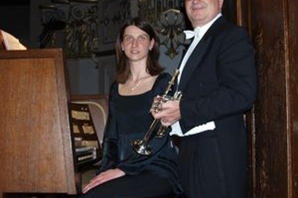 Na Ars Organi zahrali v nedeľu 9. mája Mária Plšeková a Leonhard Leeb.