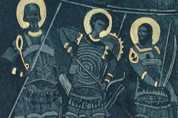 Srbský umelec sa inšpiroval freskami kláštora Manasija.