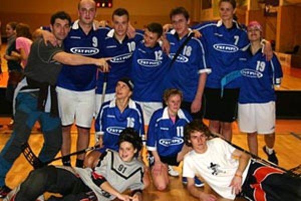 Víťazný tím Štefanského turnaja.