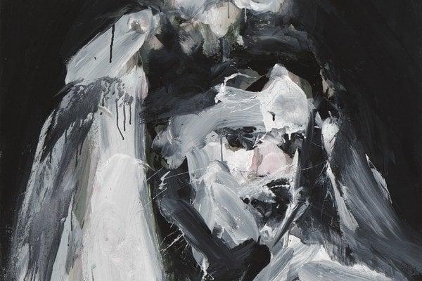 My Lady, 2013, akryl na plátne, 120 x 95cm