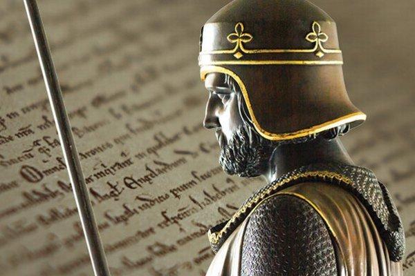 Kráľ Ján I. Bezzemok a jeho charta.