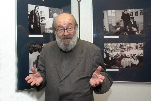 Marek Šulík sa s autorom stretol až po premiére svojho filmu.