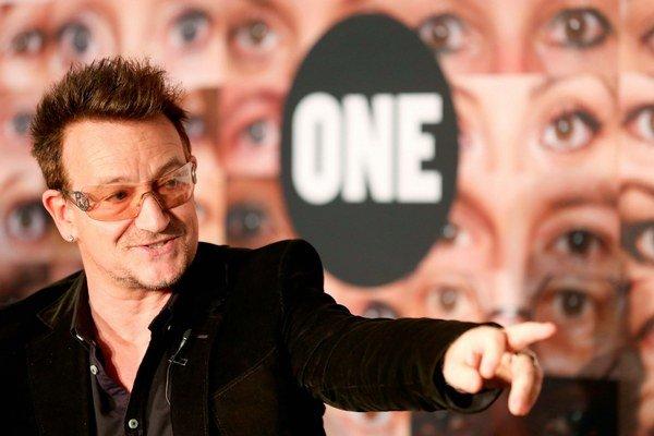 Frontman U2 Bono Vox.