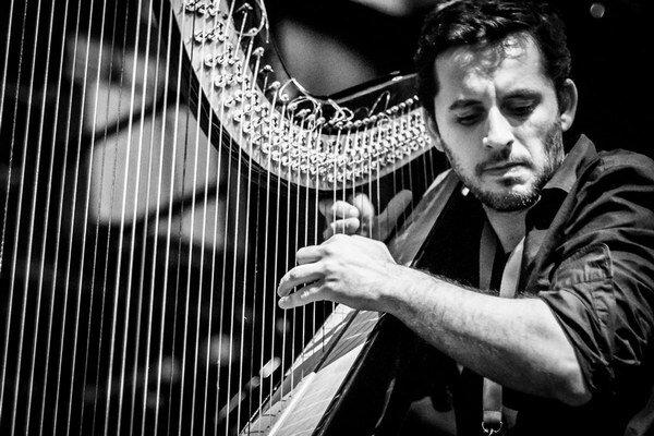 Next 2015 ponúkne aj portugalského harfistu Eduarda Raona.