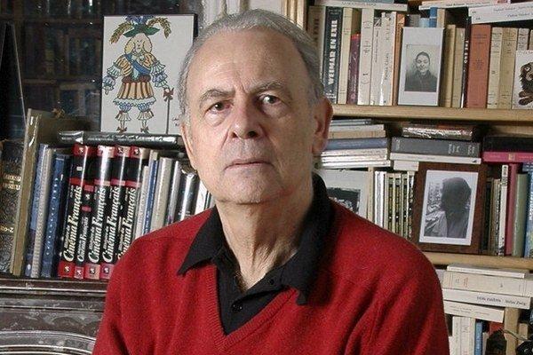 Francúzsky laureát tohtoročnej Nobelovej ceny za literatúru Patrick Modiano.