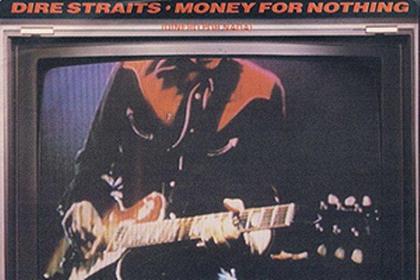 Obal singla, ktorý sa nahrával v decembri 1984 a vyhral skupine Dire Straits americkú hitparádu.
