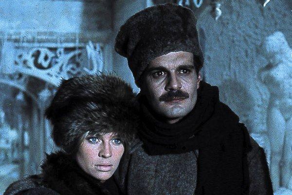 Doktor Živago vo filmovom spracovaní z roku 1965 preslávil román Borisa Pasternaka vo svete.