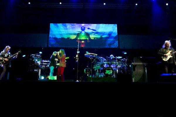 Britská rocková legenda Yes cez víkend koncertovala v Bratislave.