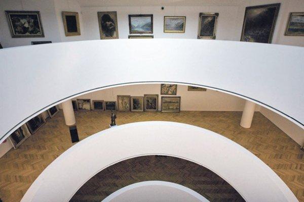 Súkromná galéria Nedbalka v Bratislave.
