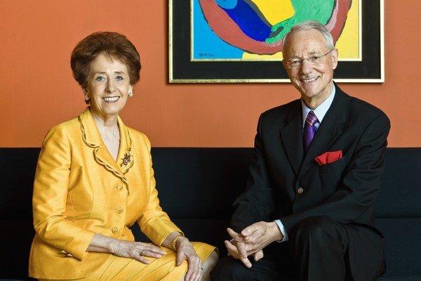Karlheinz Essl s manželkou chcú, aby štát kúpil ich veľkú zbierku.