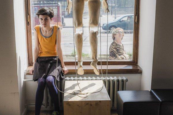 Alexandra Tamásová, kunsthistorička, pracuje ako asistentka zbierok moderného a súčasného umenia SNG.