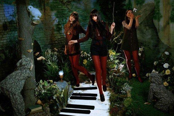 Trio Au Revoir Simone nepochádza z Paríža, ale z New Yorku.