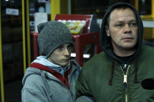 Hlavní hrdinovia filmu – neherečka Michaela Bendulová a Robert Roth.