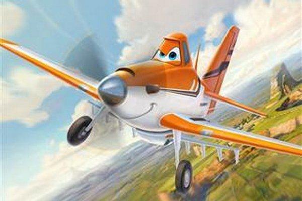 """Hlavným hrdinom je """"jednomotorové práškovacie lietadlo s hlavou v oblakoch""""."""
