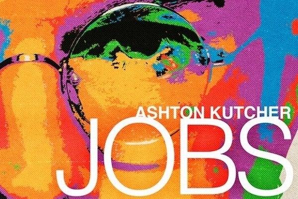 Film Jobs má psychedelický plagát.