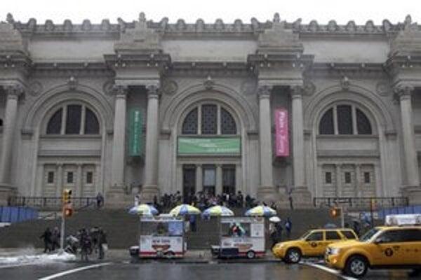 Budova Metropolitného múzea umenia v New Yorku.