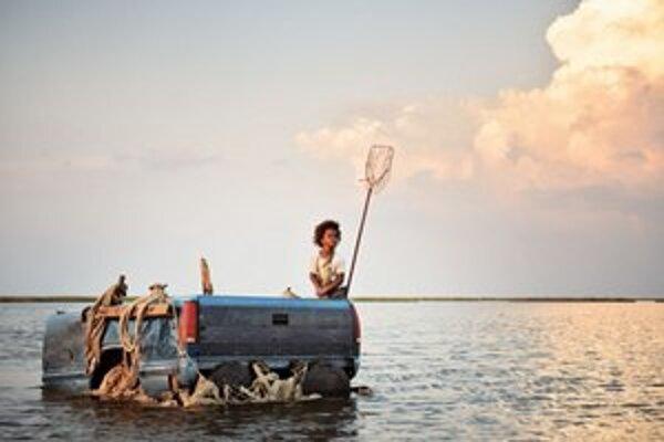 Záber z filmu Divoké bytosti južných krajín.