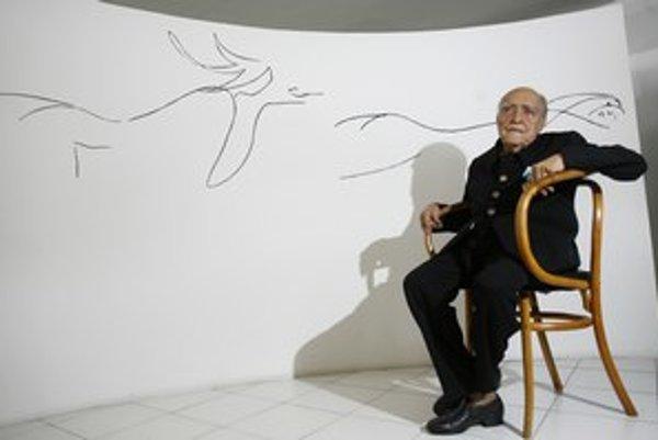 Oscar Niemeyer kreslil svoje krivky až do konca života.