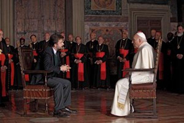 Zvolený pápež (Michel Piccoli) si myslí, že keby bol hercom, dokázal by zahrať čokoľvek. Úlohu hlavy cirkvi však nedokáže prijať bez pomoci psychiatra (Nanni Moretti).