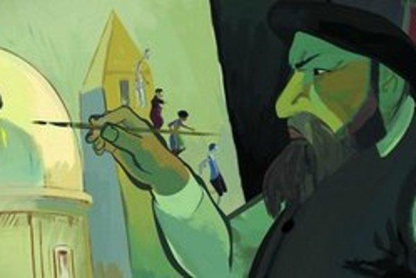 Maliar v zlej nálade – z filmu J. F. Languionieho.