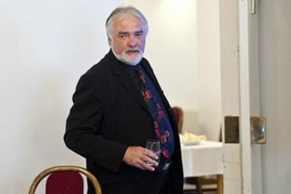 Marián Chudovský (53) pred dnešnou prezentáciou na konkurze.