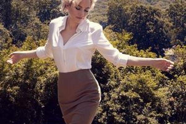Michelle Williams ako Marilyn Monroe. Oscara si zaslúžila už pred dvomi rokmi za film Blue Valentine.