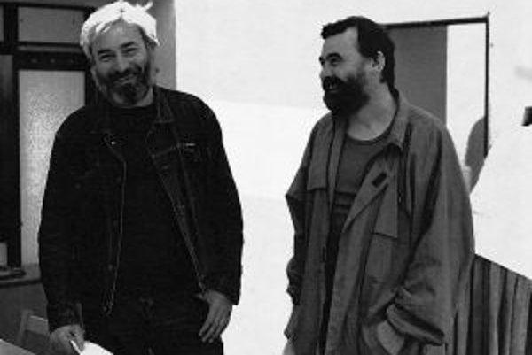 Jedinečné dielo v kontexte českej a slovenskej rockovej hudby vzniklo spoluprácou básnika Ivana Štrpku (vpravo) a hudobníka Deža Ursinyho.