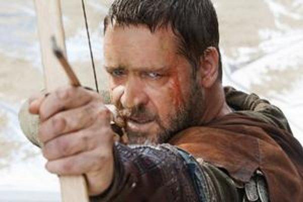 Russel Crowe je asi najstarším hereckým predstaviteľom Robina Hooda.