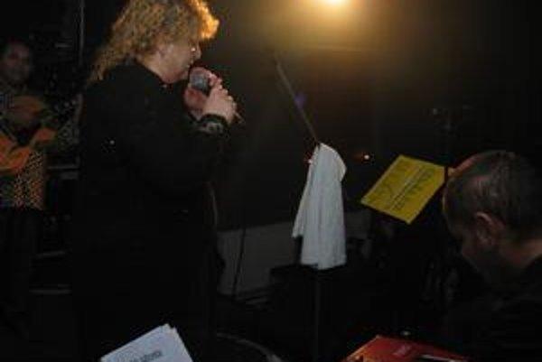 Ida Kelarová v Košiciach.
