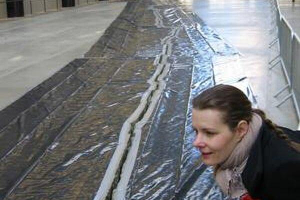 Inšpirácia? Alexandra Kusá v slávnej londýnskej Tate Modern.