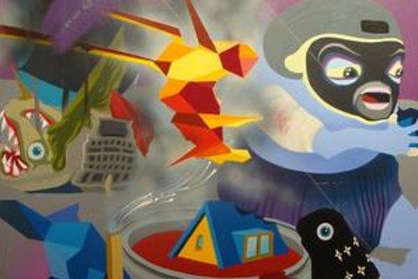 Výstava Erika Šilleho nazvaná E. S. Wird Hell v bratislavskej Krokus Galérii na Námestí 1. mája potrvá ešte do piatka 13. novembra. Autor sa okrem malieb z posledného obdobia predstavuje lightboxom, priestorovým objektom i maľbou priamo na stenu.