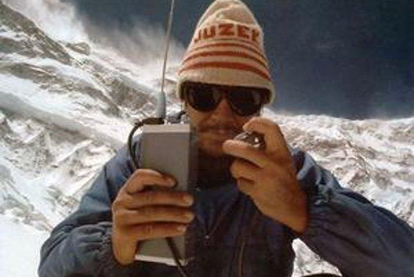 Jozef Psotka (1934 – 1984) v Himalájach.