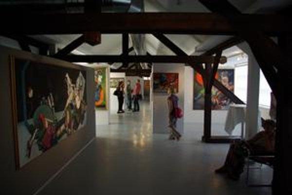 Priestory v podkroví Považskej galérie umenia prerábali dva roky, dnes slúžia stálej expozícii Vincenta Hložníka.