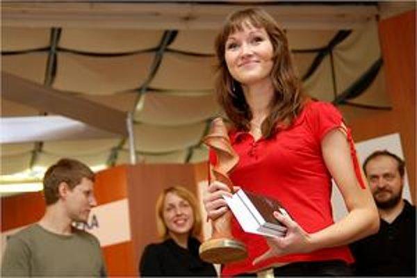 Lívia Hlavačková, víťazka ročníka 2008.