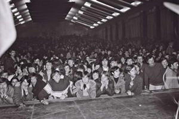 Väčšina koncertov v PKO mala skvelú atmosféru už v 60. rokoch.