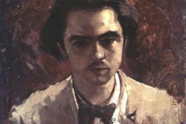 Paul Verlaine na maľbe Gustava Couberta.