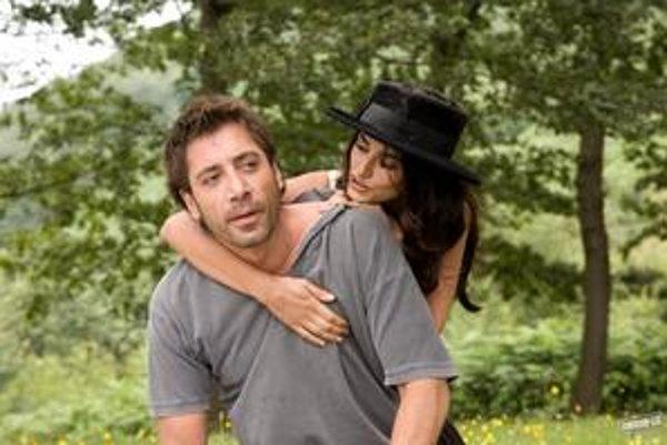 Výborní Javier Barden  a Penélope Cruz  v najnovšom filme Woodyho Allena.