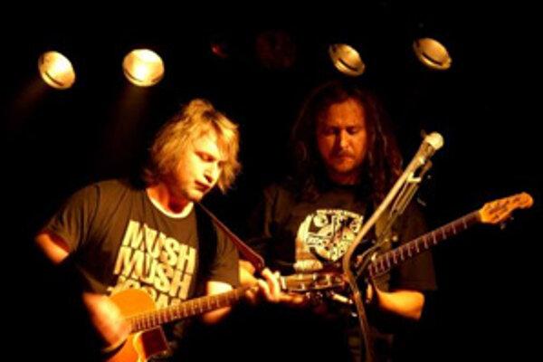 Miko Hladký (naľavo) a Lívo zo skupiny Gladiator.