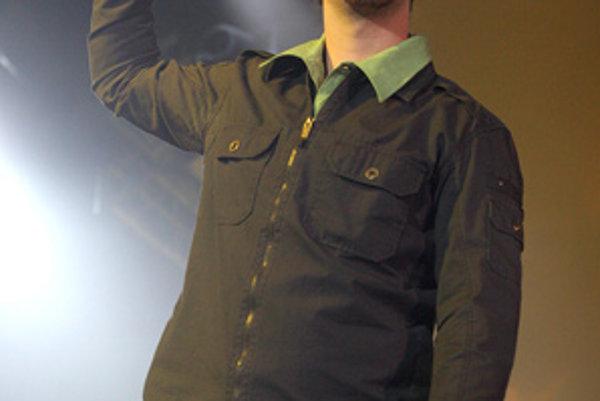 Spevák skupiny No Name Igor Timko.