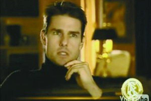 Tom Cruise v deväťminútovom videu rozpráva o neuveriteľných schopnostiach scientológov.