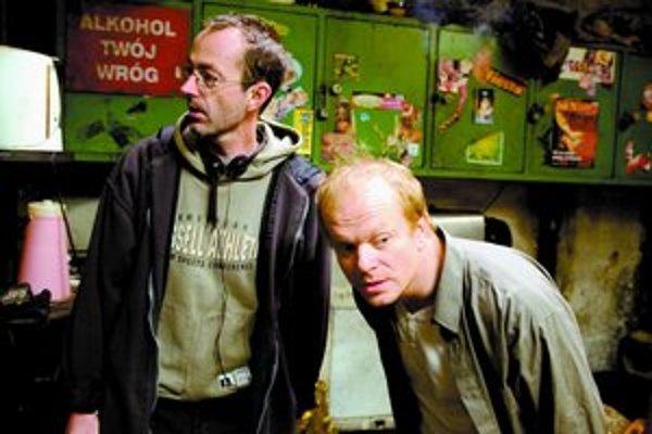 Petr Zelenka s hercom Davidom Novotným (Dimitrijom).