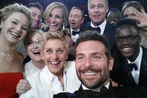 Fotka, ktorú dala na Twitter moderátorka Ellen DeGeneres, mala po 40 minútach viac ako milión zdieľaní