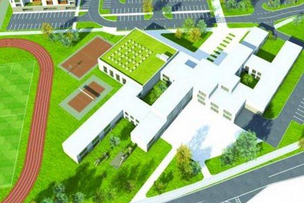 Projekt novej plno organizovanej deväťročnej základnej školy v Čiernej Vode.