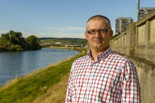 Miroslav Kollár, nový primátor Hlohovca.