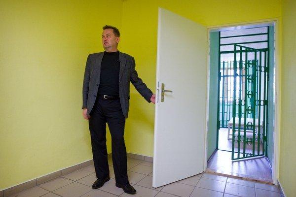 Riaditeľ Reedukačného centra v Hlohohovci Viktor Vicena.