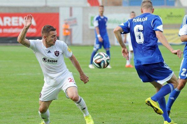 Erik Jendrišek strelil jeden z piatich gólov a konečne sa v trnavskom drese presadil.