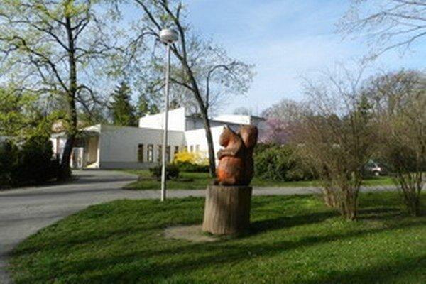Veveričku z podstavca opakovane zhadzovali opití mladíci. Policajti ich nakoniec odhalili.