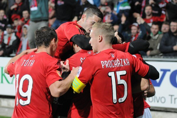 Spartakovci vyhrali tretí zápas v rade.