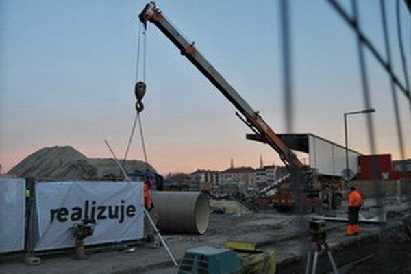 Finančne najväčším projektom v centre Trnavy je výstavba futbalového štadióna.