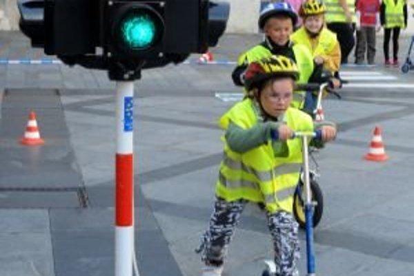 Dopravné ihrisko majú po rokoch opäť aj v Trnave.